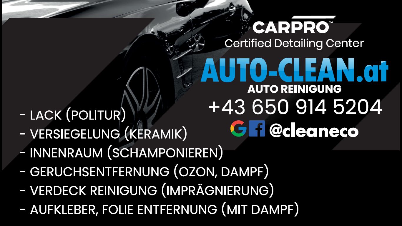 Auto Desinfektion Detailing Autoreinigung – AUTO CLEAN ECO STEAM – Autoreinigung Autodetailing Wien