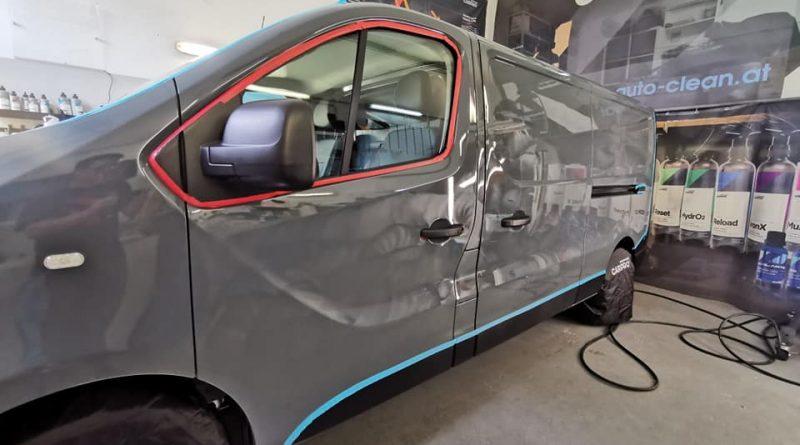 Neuwagen- Renault TRAFIC Versiegelt mit Langzeitschutz